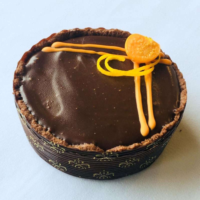Apelsini-šokolaaditart